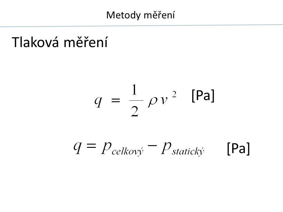 Tlaková měření [Pa] [Pa]
